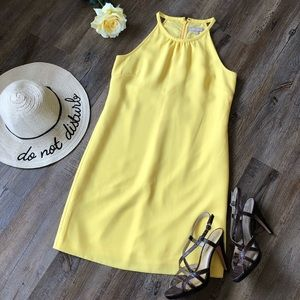 Banana Republic yellow sun dress